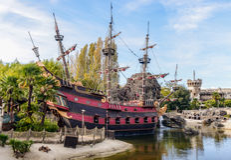 Les pirates des 04 des Caraïbes Photo stock