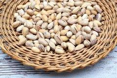 les pistaches ont salé Photo stock