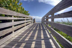 Les plages de détente de la Floride Image libre de droits
