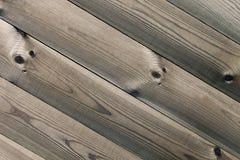 Les planches brunes âgées La texture en bois Le fond Photographie stock libre de droits
