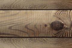 Les planches brunes âgées La texture en bois Le fond Image stock