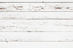Texture en bois blanche de planches. Horizontal. Photo stock