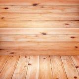 Les planches en bois de grands planchers bruns donnent au papier peint une consistance rugueuse de fond Photographie stock