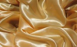 Les plis du tissu en soie Photos stock
