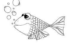 Les poissons Images libres de droits