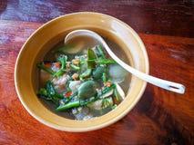Les poissons corroient la nourriture de la Thaïlande image stock