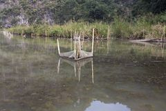 Les poissons emprisonnent au Vietnam photos stock