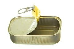 Les poissons en aluminium peuvent Photo stock
