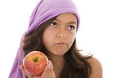 les pommes détestent I images stock