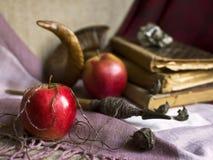 Les pommes enchantées par sorcière Photo libre de droits