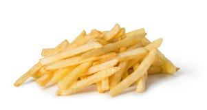 les pommes frites ont isolé le blanc photos stock