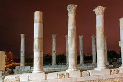 Les pompeipolis de Soloi est ville antique de port Mersin La Turquie photographie stock libre de droits