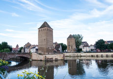 Les ponts couverts de Strasbourg Stock Photography