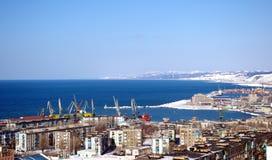 Les portes de mer de l'île Sahalin. Photo libre de droits