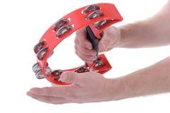 Les pouces lèvent le gant de construction photographie stock