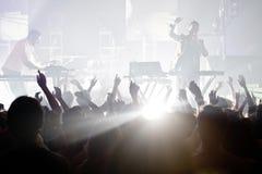 Les préréglages de concert Photos stock