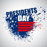 Les Présidents Day Vector Background illustration libre de droits