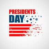 Les Présidents Day Vector Background Photographie stock