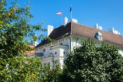 Les Présidents Office Autriche Photographie stock