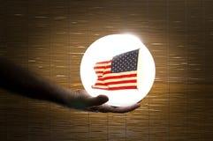 Les prévisions rendent l'Amérique grande encore Image libre de droits