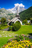 Les Praz de Chamonix, France Stock Photography
