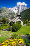 Les Praz de Chamonix, France Royalty Free Stock Photography