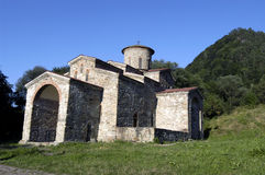 Les premières églises chrétiennes sur Caucase Photo libre de droits