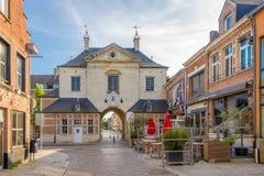 Les prisonniers déclenchent dans les rues de Lier - la Belgique images stock