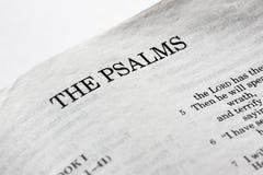 Les psaumes images stock