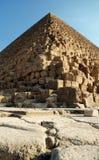 Les pyramides égyptiennes Photos stock