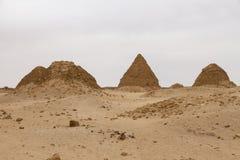 Les pyramides chez Nuri Photo libre de droits