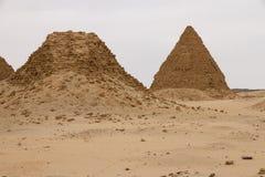 Les pyramides chez Nuri Image stock