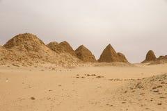 Les pyramides chez Nuri Photographie stock libre de droits