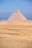 Les pyramides de Giza Photos stock