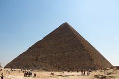 Les pyramides du groupe de Gizeh Photo libre de droits