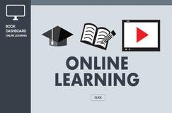 Les qualifications de entraînement de ÉTUDE EN LIGNE de technologie de connectivité enseignent des Di photo libre de droits