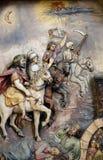 Les quatre cavaliers de l'apocalypse Images stock