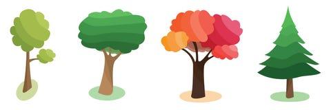Les quatre saisons Photo libre de droits