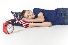 Les rêves doux, dorment fortement ! Photo libre de droits