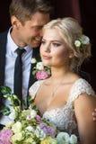 Les rêves du ` s de jeune mariée et le ` s de marié rêve Image libre de droits