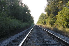 Les rails Photos stock