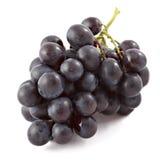 les raisins de table noirs ont isolé image libre de droits