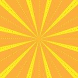 Les rayons barrés avec le modèle de points avec la lumière ont éclaté des rayures Fond abstrait de papier peint Illustration de v Photographie stock