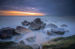 Les rayons de bout ! Image stock