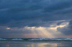 Les rayons du soleil Photographie stock libre de droits