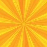 Les rayons modèlent avec des rayures d'éclat de lumière jaune Sun Ray Fond abstrait de papier peint Illustration de vecteur Images stock