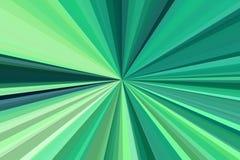 Les rayons vert clair rayonnent le fond usine de contexte illustration libre de droits