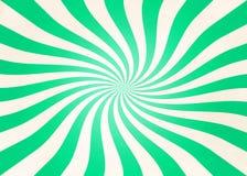 Les rayures vertes et beiges donnent une consistance rugueuse avec l'effet de pirouette image stock