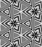 Les rectangles diminuant vers le centre créent l'illusion de la profondeur et du volume Illustration Stock