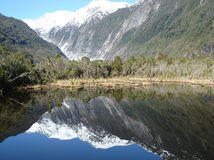 Les regroupements de Peter, glacier de Franz Josef, Nouvelle Zélande Photo stock